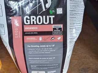Tec Unsanded Grout Standard White 10 lb bag