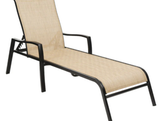 Tan Outdoor Chaise lounge