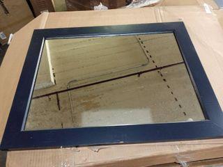 Matte Black Hangable Mirror