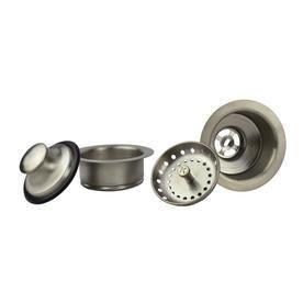 Keeney K5475DSBN Sink Strainer and Garbage Disposal Flange Kit  Brushed Nickel
