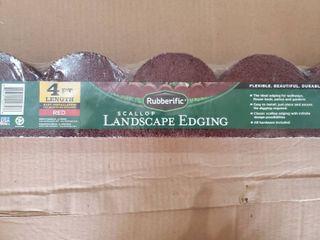 Rubberific Scallop landscape Edging  lot of 6
