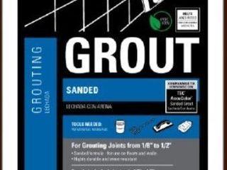 TEC SKIll SET Sanded Grout 10lbs  Bag Color  Espresso