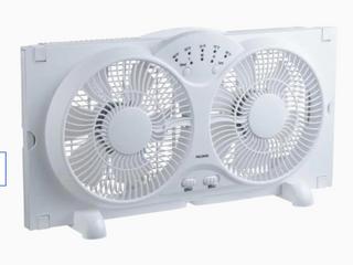 Utilitech 9 in Diameter Twin Window Fan