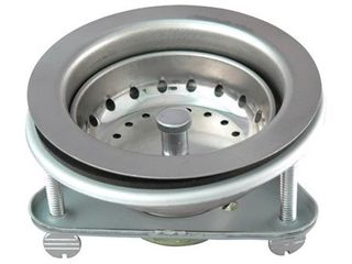 Keeney K5416 4 1 2  Stainless Steel Fixed Post Sink Strainer
