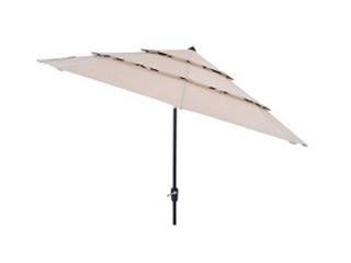 Simply Shade Solid wheat Market 11 ft Patio Umbrella