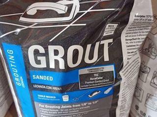 TEC SKIll SET Sanded Grout 10lbs  Bag Color Mocha