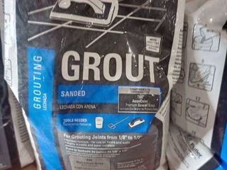 TEC SKIll SET Sanded Grout 10lbs  Bag Color Delorean Gray