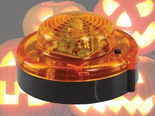 lED Pumpkin light   Battery Operated pack of 3   Orange   1 75  Height x 3  Diameter