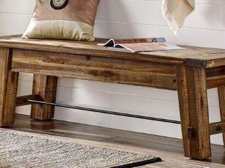 Carbon loft Bahamondes 60 inch Wood Bench  Retail 259 99