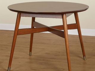 light Wood Dining Room Table  Hardware Missing and Slight Damage  See Pictures