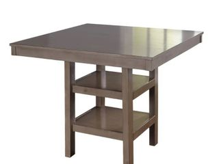Simple living Simon Counter Height Dining Table   Distressed Grey  Retail 445 57