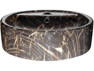 ANZZI Rhapsody Series Ceramic Vessel Sink in Neolith Marble Finish  Retail 113 99