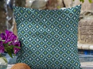 Arden Selections Alana Tile Outdoor large Pillow