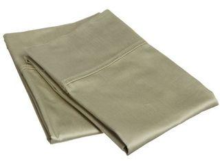 Superior 400 Thread Count Stripe Cotton Sateen Pillowcase Set  Set of 2