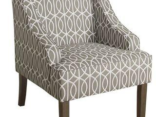 Porch   Den Cammy Swoop Arm Accent Chair  Retail 152 49