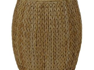 Gallerie Decor Tall Drum Accent Table  Retail 219 99