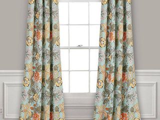 The Curated Nomad Chorro Room Darkening Curtain Panel Pair  95 Inches