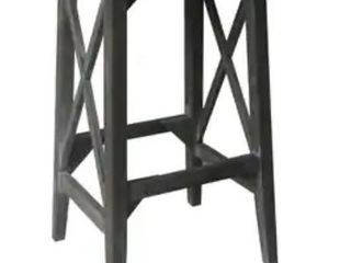 Gaines Wood Farmhouse Barstool  Bar Height 29 32 in  Retail 112 99