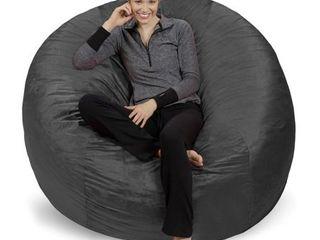 Giant Memory Foam Bean Bag 6 foot Chair  Retail 189 99