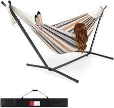 Amazonbasics Hammock Stand With Carrying Case  9 foot