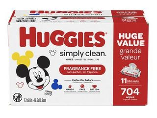 Huggies Simply Clean Baby Wipes   792ct