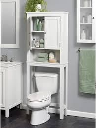 Zenna Home Custom Suite Over the toilet Spacesaver  White