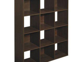 ClosetMaid Cubeicals 12 Cube Organizer   Espresso  Brown
