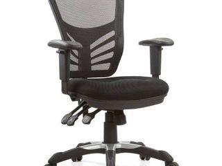 Office Chair Modway Midnight Black