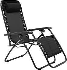 Zero Gravity Chair   Black