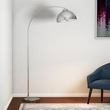 Carson Carrington Egersund Chrome Arc Floor lamp  Retail 133 99