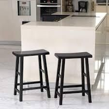 Cambridge Casual lucca 24  Counter Stool  set of 2  Retail 76 48 mahogany and black