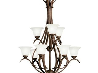 Copper Grove Rocklea 9 light Tannery Bronze Chandelier  Retail 325 49