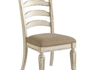The Gray Barn Nettle Bank Chipped White Dining Room Chair  Set of 2  Retail 206 99