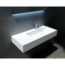 Juniper 36    72  Solid Surface Wall Mounted Sink  Retail 359 99 white