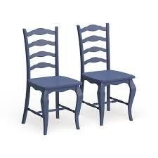 The Curated Nomad Isabella 2 piece Dining Chairs Set  Retail 307 99 blue