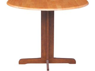 International Concepts Dual Drop leaf 36 inch Dining Table  Retail 219 99