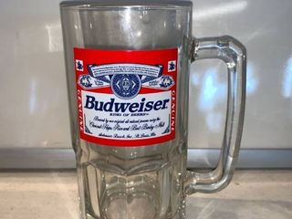 Huge Budweiser Mug 1997 location Shelf F