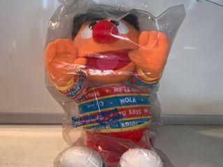 Tyco Sesame Street English Spanish Ernie location Shelf F
