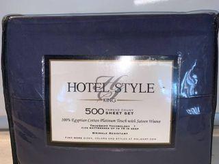 Hotel Style King 500 Thread Count Sheet Set location Shelf C