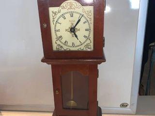 Sheffield Mini Grandfather Clock Unknown Working Condition