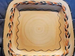 large Square Ceramic FURIO Platter