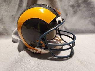 Mini RAMS Football Helmet