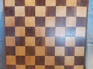 Solid Wood Checkers or Chess Board