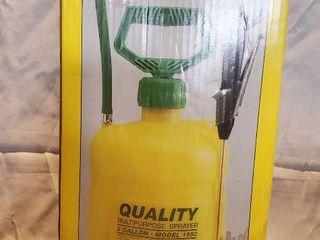 Yellow Model 1992 Quality Multipurpose Sprayer  2 Gallons