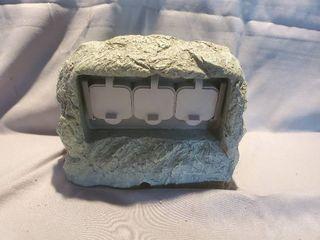 Fake Rock Hiding Plug In