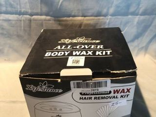 Brand New All Over Body Wax Kit with Wax location Shelf 2
