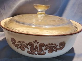 Pfaltzgraff Cooking Ware with Pyrex lid