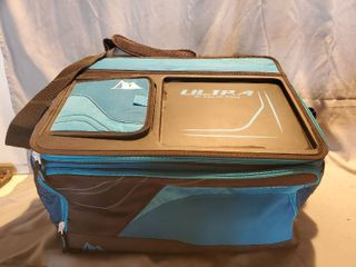 large Ultra By Artic Zone lunch Box  with Tope Tray and Easy Velcro Top Access