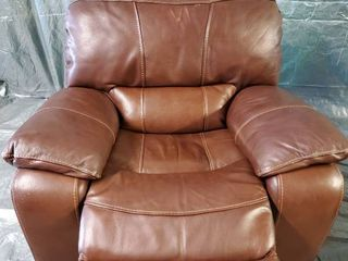 Brown leather Recliner 45x41x38 Inches