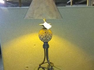 Beautifully Designed Table lamp From Uttermost lighting Tested And Working 37 Tall location 1E Middle